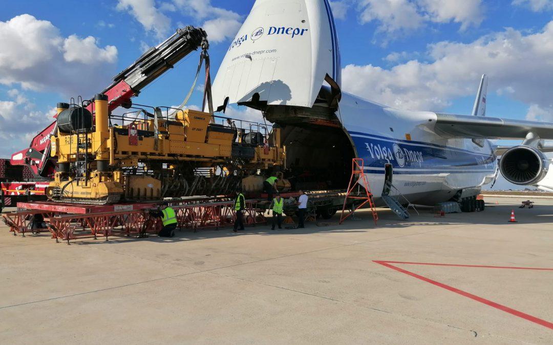 Uçakla 50 Tonluk  Makine Gönderdik
